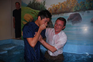 Baptism Pictures Are Available from Sis Yuna Suh